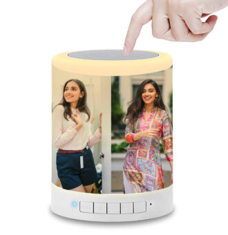 Personalized Photo Printed Touch LED Bluetooth Speaker